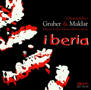 "Cover der CD ""Iberia"""
